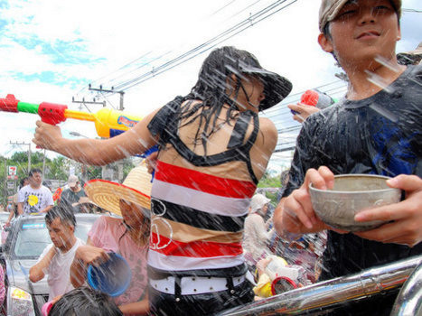Time for Songkran