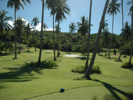 Tee-off on Koh Samui